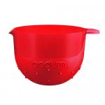 Bodum Bistro Beslagkom Rood - 2,8 liter