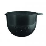 Bodum Bistro Beslagkom Zwart - 2,8 liter